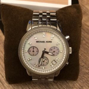 Michael Kors Mother of Pearl Face Watch